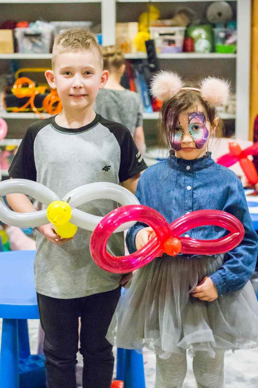 składanie balonów - tworzenie postaci