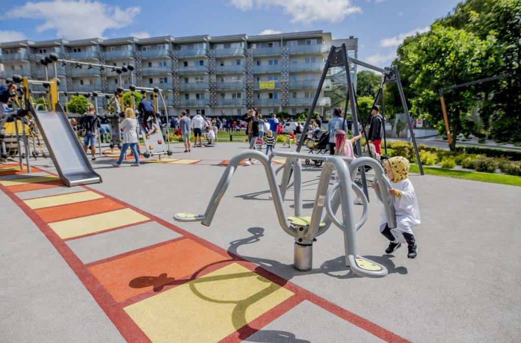 nowoczesny i bezpieczny plac zabawa w hotelu AQUARIUS SPA