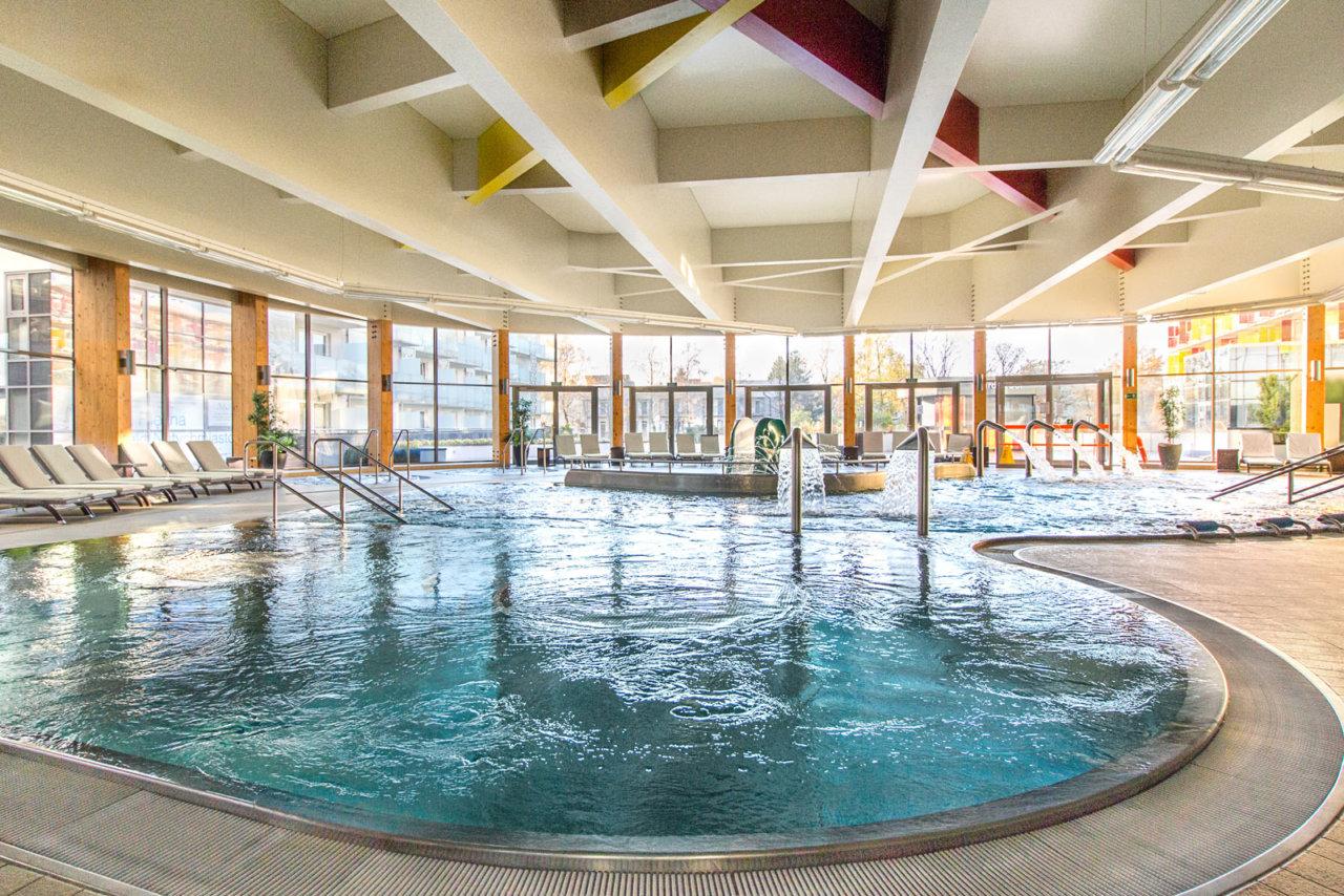 aquacenter w Hotelu AQUARIUS SPA