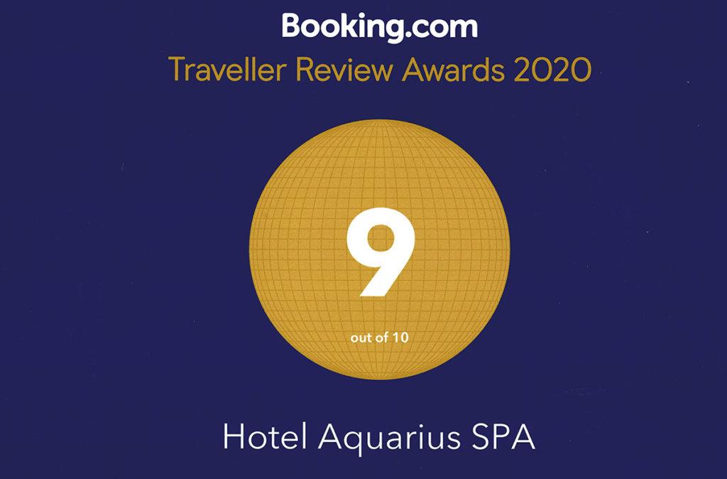 Opinie w Booking Hotelu AQUARIUS SPA w Kołobrzegu