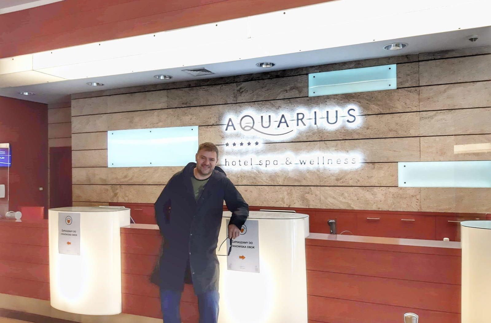 Tomasz Karolak w Hotelu AQUARIUS SPA*****