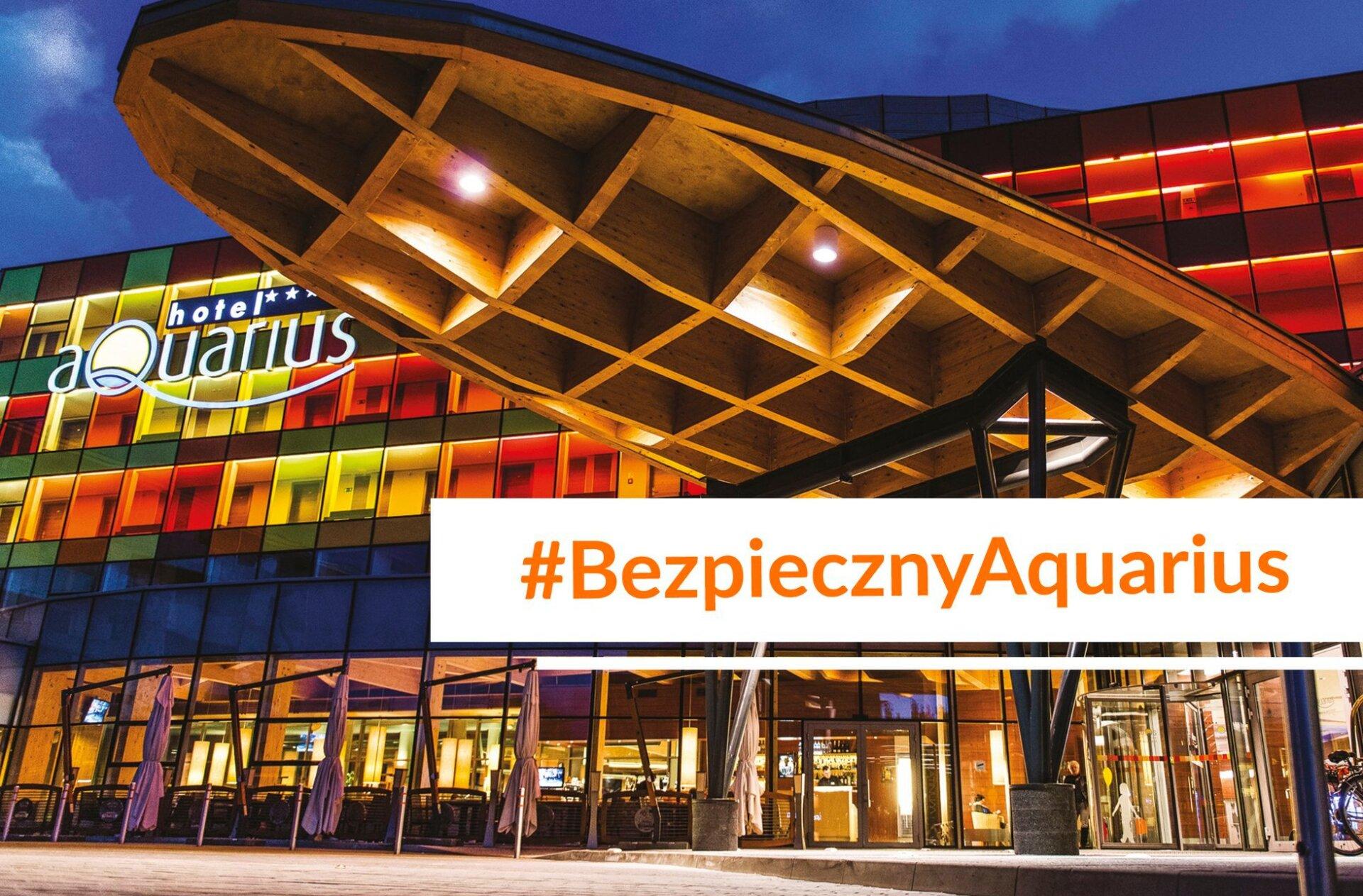Bezpieczny hotel AQUARIUS SPA w KOłobrzegu