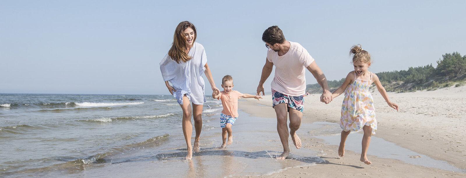 Rodzinne wakacje nad morzem Bałtyckim