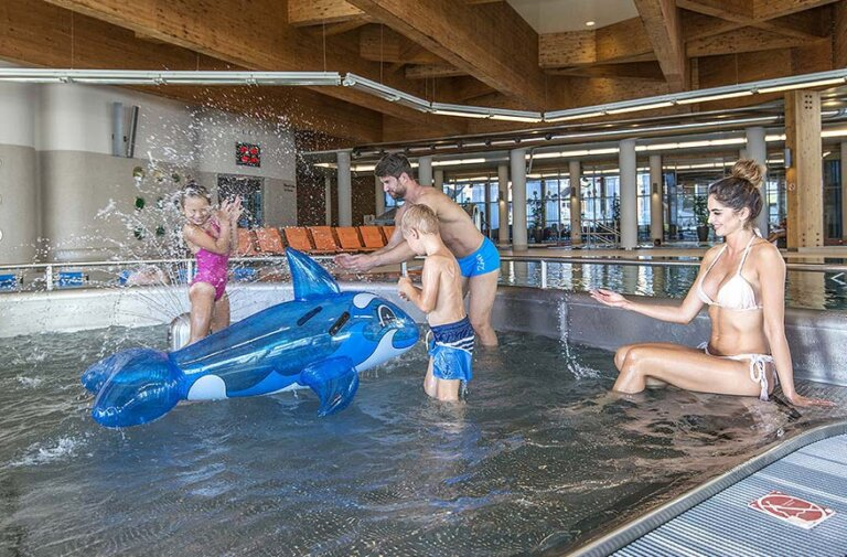 brodzik dla dzieci w Aquacenter Hotel AQUARIUS SPA