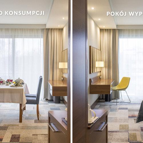 2 pokoje w cenie jednego
